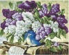 flower oil painting on canvas WL-4020
