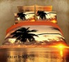 40X40/133X72 100% Cotton Reactive Scenery Designs Bedsheet Set