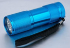 Aluminium Waterproof LED Flashlight For Emergency Use