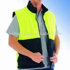 Hivis Two Tone Reversible fleece vest