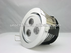 CE certified 3*1W LED recessed downlight