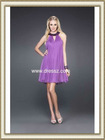 Sleeveless A-line Simple Cheap Prom Dress Made in China