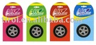 Air Freshener tire shape hanging on the air conditione T13805