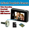 door camera video recorder with 2.8 inch touch screen screen monitor for home security