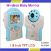 Wireless Day&Night Baby Monitor Set With a Wireless Receiver With a 1.8 Inch TFT Screen And a Wireless IR Camera