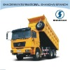 SHACMAN 6x4 tipper truck/dump truck for cold region
