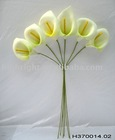new artificial calla lily bunch for home decoration