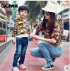 New Autumn clothes---Milk sister Parent-child loaded long sleeve sweater for families 3548