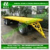 Flatbed Pulling Cargo Trailer