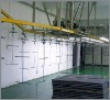 Suspended paint line conveying machinery