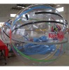 Inflatable transparent PVC water walking ball for water amusement with logo