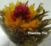 ORGANIC artistic tea,100% hand-made artistic blooming tea