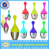 Leaf shape Stainless Steel Silicone Tea Strainer