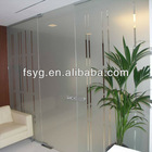 Glass office partitions YG-P040