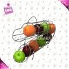 Metal fruit basket holder