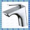 2012 new contemporary bathroom brass single lever basin mixer