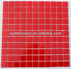 4mm Red Glass Mosaic Tile