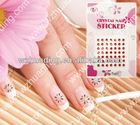 2012 newest DIY nail sticker nil art stickers