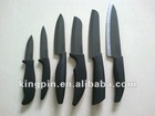 3-6 inch ceramic knife, black ABS handle