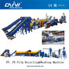 Waste PE PP film recycling machine / machinery