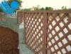 Cheap and ecofriendly WPC solid yard fencing