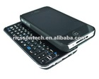 2012 New products black color sliding Bluetooth keyboard for iphone 4s