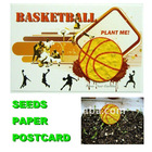 2012 new design seeds paper of postcard