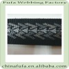 factory supply fabric knitted jacquard webbing belt