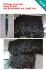 Chinese remy human hair