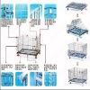 foldaway warehousing cage