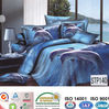 Italy 100% cotton king size printed bed linen