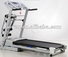 "7"" LCD 2.5HP Noiseless energy-saving CNC speed folding electric treadmill with massage,taper roller and matte paint"