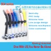 Silicone mouthpiece diving snorkels,cheap price!