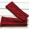 Beautiful Fingerless gloves knitting pattern