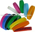 new design silicone wristband
