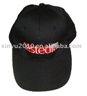 black fashion embroidered cap