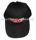 black fashion embroidered cap