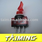 Automobile switch ASW-14D DC12V 20A red