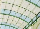 Guangzhou remote control retractable roof shade canopy / outdoor roof shade awning