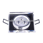 3W Square Crystal LED Ceiling Light(AC85-265V))