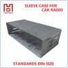 Car radio setting case DIN size