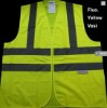 yellow Reflective safety vest (RV-5001-yellow)