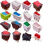 [Direct Manufacturers]3/6/10/16A T85 illuminated Electrical switch