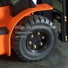 best sell forklift truck solid tire for 6.50-10 china export