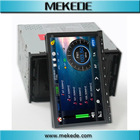 double din car gps player with front detachable panel,DVD+TV+bluetooth+Ipod full function