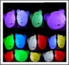 2012 hot sell latest popular style led flashing color changing magic ball like a kitty cap for party
