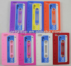 2012 latest cassette silicon case for iphone 5