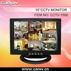 HOT 15'' BNC Surveillance LCD Car Monitor