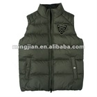 2012 new arrival unisex 100% Nylon shell grey Fashion reversible Vest