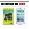 2012 hot selling anti-scratch screen protector for galaxy s3